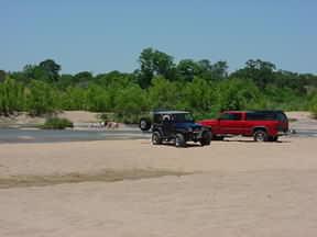 The Slab beach in Kingsland